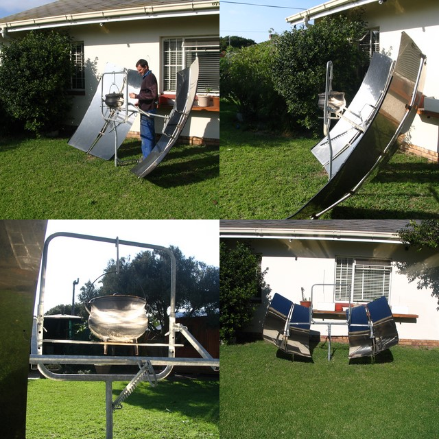 Heatmoth Solar Cooker Collage